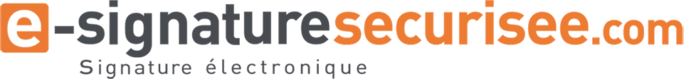 logo e-signaturesecurisee